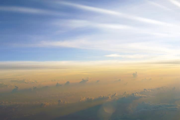 Sunrise at 33,000 Feet